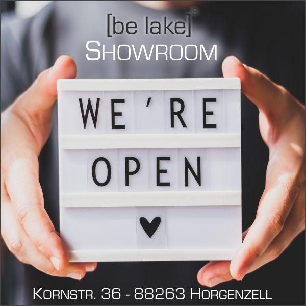 be lake showroom in Hogenzell geöffnet